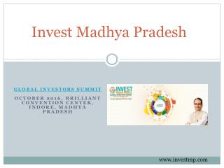 Madhya Pradesh is the best destination for investment'