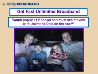 Trusted Brand - Thorn Broadband