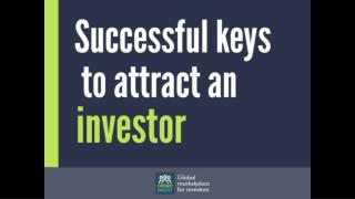 Successful keys to attract an investor