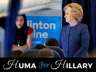 Huma for Hillary