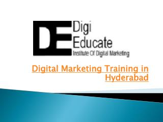 Digital Marketing Training in Hyderabad | Best Institute for Digital Marketing in Hyderabad