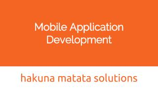 Mobile app developers in India
