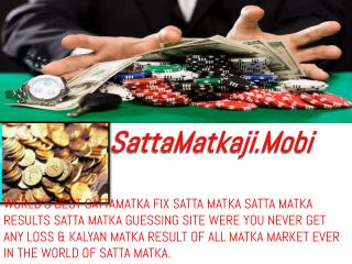 SattaMatkaji Suggest How to Get  Success In Playing Matka