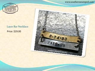 Hand Stamped Jewelry ,Personalized Jewelry