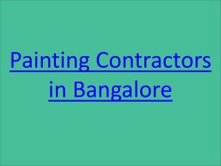 Painting Contractors in Adugodi