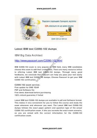 IBM test C2090-102 dumps