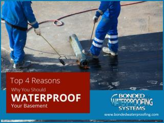 Importance of Waterproofing your Basement