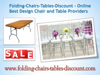 Folding-Chairs-Tables-Discount - Online Best Design Chair and Table Providers