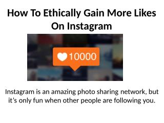 Buy Instagram Likes $1