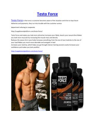http://supplementplatform.com/testo-force/