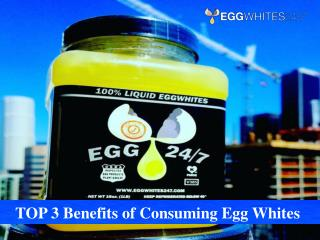 Benefits of Consuming Egg Whites