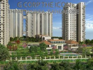 The Icon at Thanisandra by G Corp - Call: ( 91) 9953 5928 48