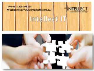 Business IT Solution Services in Melbourne - Intellect IT