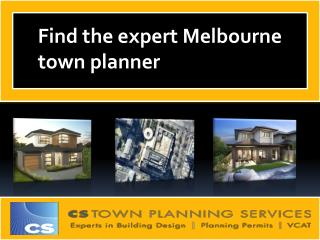 Hire expert Melbourne town planner