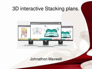 3D interactive Stacking plans