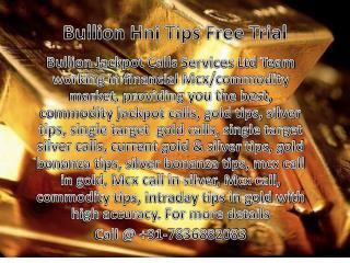 Gold Silver HNI Tips Free Trial