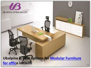 Modular Furniture for Office