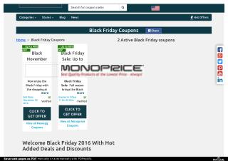Black Friday Coupons, Promo Codes, Coupon Codes