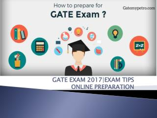 gate petroleum engineering | Gate Exam 2017