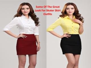 Some Of The Great Look For Skater Skirt Outfits