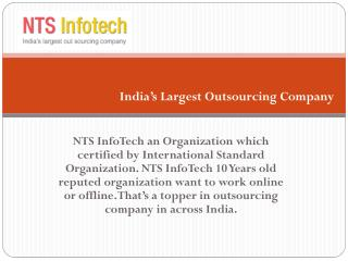 Top Outsourcing Project Company in India