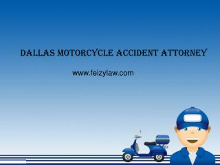 Motorcycle Accident Attorney in Dallas