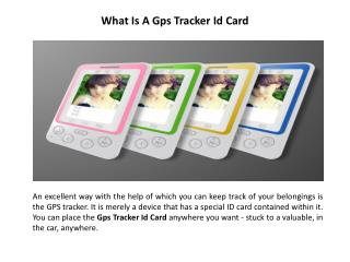 I Card Gps Device For Child | Gps Tracker Id Card