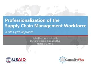 Professionalization of the  Supply Chain Management Workforce