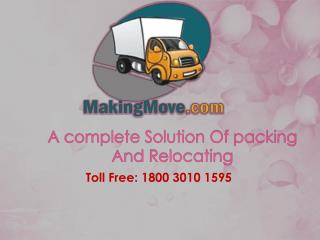 Packers and Movers in Noida By Makingmove Packers And Movers