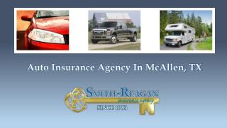 Auto Insurance Agency In McAllen, TX