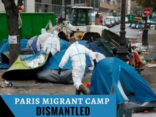 Paris migrant camp dismantled