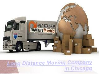 Long Distance Moving Company in Chicago