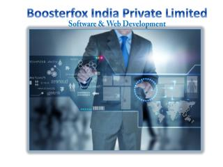 Boosterfox Pvt Ltd: Software & Development Company to boost your BUSINESS