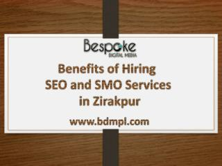 Benefits of Hiring SEO and SMO Services in Zirakpur