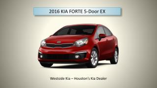 KIA Forte 5-door EX | Westside Kia