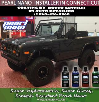Pearl Nano Super-Hydrophobic 9H Ceramic Protection by RS Auto Detailing
