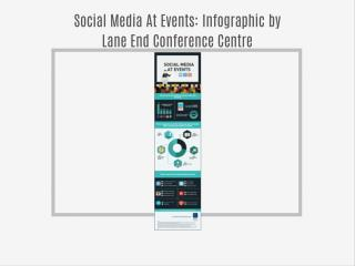 Social Media At Events: Infographic by Lane End Conference Centre