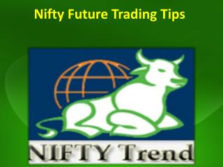 Nifty future trading tips