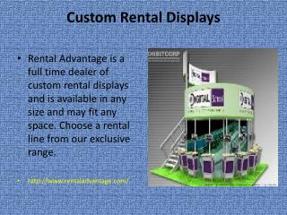 Custom Exhibit Rentals