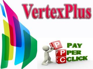 PPC online marketing advertising at VertexPlus