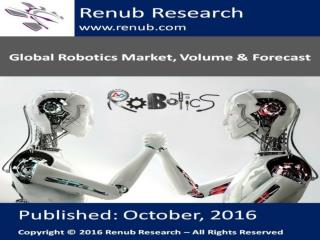 Global Robotics Market Volume and Forecast