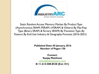Static Random Access Memory Market: companies invest heavily to improve computer memory
