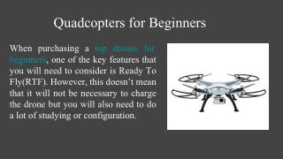 Top Drone for Beginners
