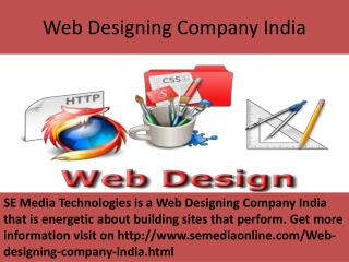 Website Designing Company India