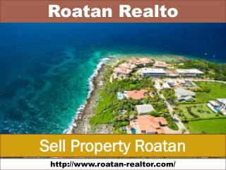 Sell Property in Roatan