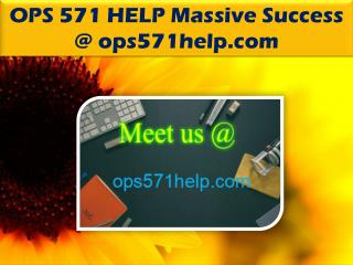OPS 571 HELP Massive Success @ ops571help.com