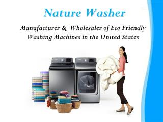 Purewash Eco Friendly Laundry System