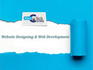 What Are The Different Types Of Web Designing Services?