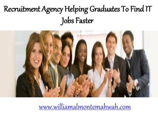#WilliamAlmonte- Recruitment Agency Willaim Almonte's Titan Staffing Systems Helping Graduates to Find IT Jobs Faster
