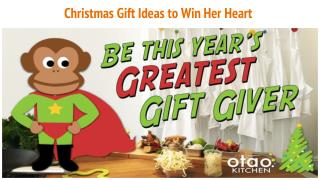 Christmas Gift Ideas to Win Her Heart